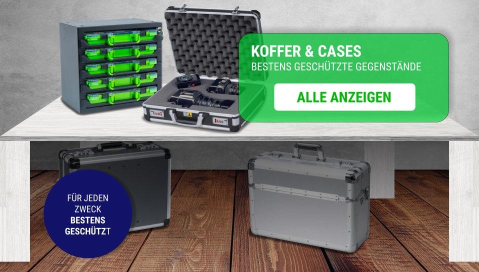 Koffer und Case