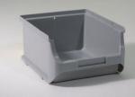 graue Sichtboxen Lagerboxen 2 breit bei ZHS Kaufen
