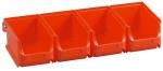 Sicht-Lagerboxen rot 5 Set bei ZHS kaufen