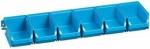 Sicht-Lagerboxen blau Set 7 teilig bei ZHS kaufen