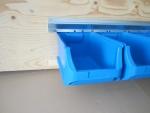 Schwerlastschienen und Boxen blau bei ZHS kaufen