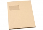 10 x Versandtaschen C4 braun mit Fenster bei ZHS kaufen