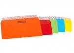 Color Kuverts DIN lang ohne Fenster haftklebend - 20 STK sortiert bei ZHS kaufen