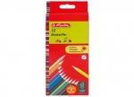 6 x Dreikantbuntstifte 12er lackiert bei ZHS kaufen