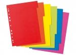 10 x Kartonregister A4, farbig 6-tlg. bei ZHS kaufen