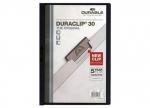 10 x Klemmmape Duraclip Mappe bis 30 Blatt, schwarz bei ZHS kaufen