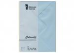 10 x Briefumschläge C6, blau - 5er Set bei ZHS kaufen