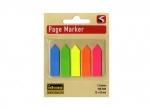 10 x Haftmarker Pfeile neon 5 Farben bei ZHS kaufen