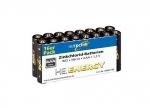 10 x Zink Chlorid Batterien AAA-16er Set bei ZHS kaufen