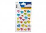 10 x Sticker Herzen Stone - 1 Blatt bei ZHS kaufen