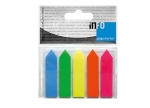 12 x Pagemarker auf Kunststoffkarte Pfeilform bei ZHS kaufen
