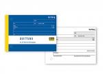 5 x Quittungsblock A6 quer 50 Blatt mit Blaupapier bei ZHS kaufen