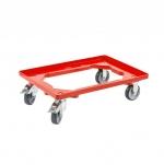 Euroboxen Rollwagen rot OB günstig bei ZHS kaufen