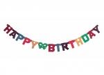 10 x Buchstabenkette Happy Birthday bei ZHS kaufen