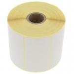 Thermo Etiketten 75 mm x 40 mm, weiß, rechteckig