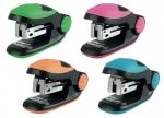 6 x Mini-Heftmaschine u. farbige Heftklammern