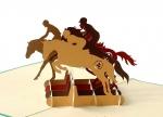 5 x Klappkarte Pferde bei ZHS kaufen