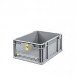 Eurobehälter Store F 417 grau/gelb bei ZHS günstig Kaufen