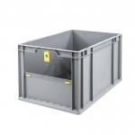 Eurobehälter Store F 422 grau/gelb bei ZHS günstig Kaufen