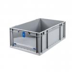 Eurobehälter Store F 622-2 grau/blau bei ZHS günstig Kaufen