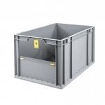Eurobehälter Store F 632 grau/gelb bei ZHS günstig Kaufen