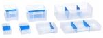 Allit 464721 Quer Trennstege 10xA2 für VarioPlus PRO Kleinteilschubladen blau