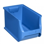 456280 Allit Sichtlager-Stapelboxen ProfiPlus Box 4H blau