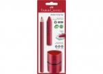2 x Bleistift Set Grip Jumbo rot 3-tlg. bei ZHS kaufen