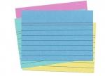 10 x Karteikarten A8 100 liniert farbig bei ZHS kaufen