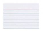 10 x Karteikarten A7 100 liniert weiß bei ZHS kaufen